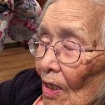 Grandma singing Japanese song